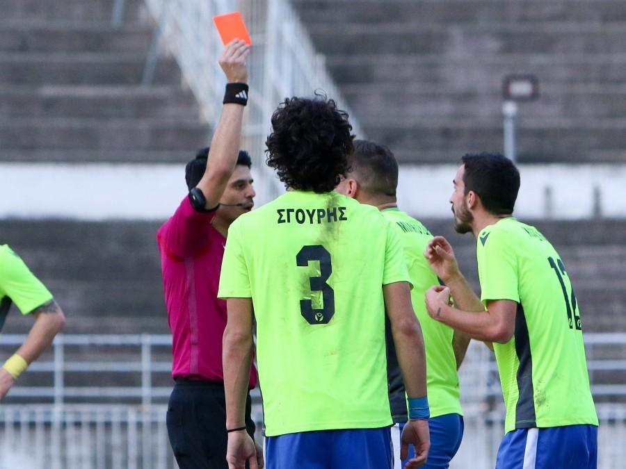 """Εύκολα τα Τρίκαλα 2-0 την Τρίγλια που """"φωνάζει"""" για την διαιτησία…  (photo)"""